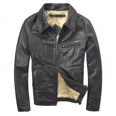 мотоциклетная кожаная куртка SLIMFIT