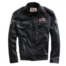 мотоциклетная кожаная куртка