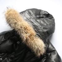 мужская зимняя кожаная аляска пуховик N3B AVIREX